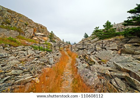 The Bay Roberts Trail in Newfoundland