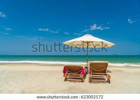 The beach in Hoi An Vietnam #623002172
