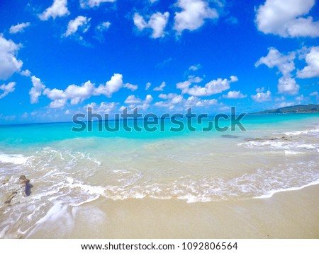 The beaches of St Croix US Virgin Islands