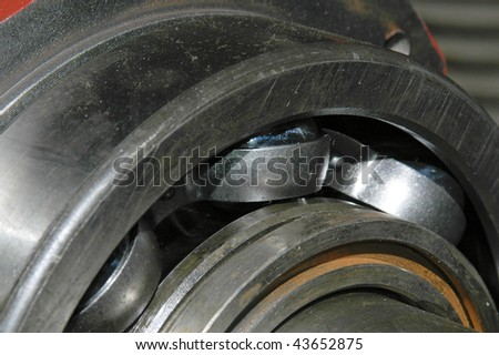The bearing on the shaft #43652875