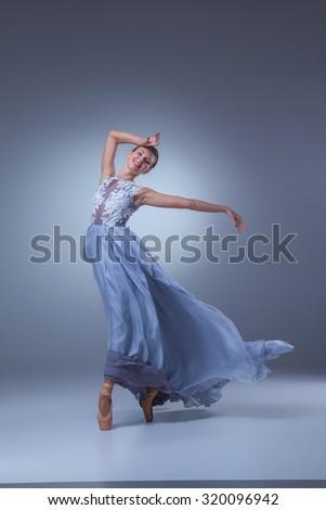 Dancing in a long dress