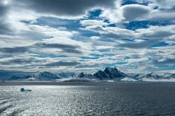 The beautiful extreme terrain on Antarctica.