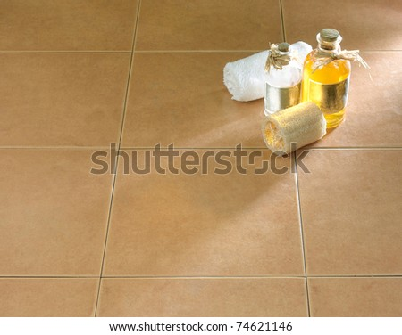 The beautiful floor tiles great for your new bathroom