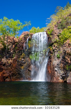 The beautiful Florence Falls in Litchfield National Park