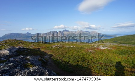 the beautiful landscape in the nothern lofoten. this place is called Keipen in Norway  #1474795034