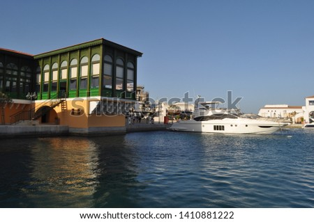 The beautiful Limassol Marina in Cyprus  #1410881222