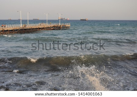 The beautiful Old Port Limassol in Cyprus  #1414001063