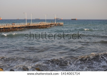 The beautiful Old Port Limassol in Cyprus  #1414001714