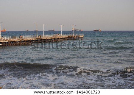 The beautiful Old Port Limassol in Cyprus  #1414001720