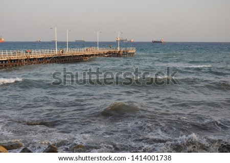 The beautiful Old Port Limassol in Cyprus  #1414001738