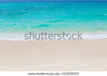 The beautiful sea on sunny day.  #412030423