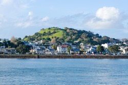 The beautiful view of Mount Victoria in Devonport, Auckland