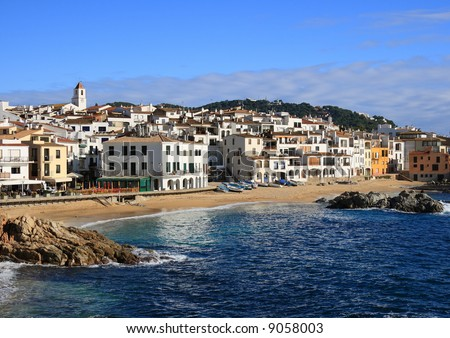 The beautiful village of Calella de Palafrugell (Costa Brava, Catalonia, Spain)