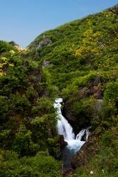 The beautiful Waterfall in Peja Country