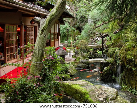 The beauty and mystery of a Japanese garden...:)...from Kyoto