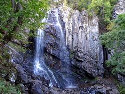 The beauty of the autumn. Boyana waterfall, Bulgaria