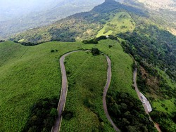 the beauty of the nature is mesmerising when travelling in these scenic routes in the paradise island of srilanka captured with a drone