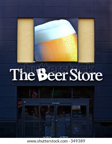 The Beer Store in Toronto,Canada