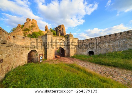 The Belogradchik Fortress, also known as Kaleto, is an ancient fortress close to the northwestern Bulgarian town of Belogradchik and the town\'s primary cultural and historical tourist attraction.