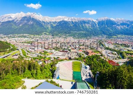 The Bergisel Sprungschanze Stadion is a ski jumping hill stadium located in Bergisel in Innsbruck, Austria