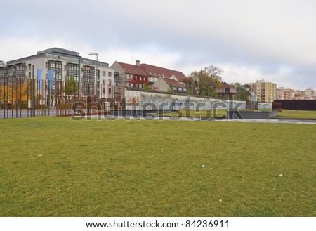The Berlin Wall (Berliner Mauer) in Germany
