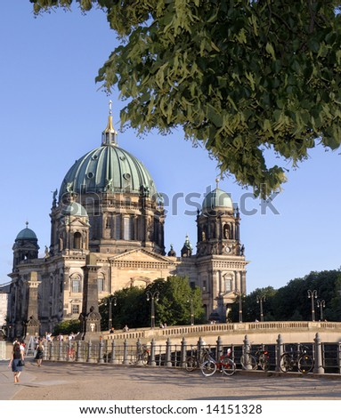 The Berliner Dom  in the heart of Berlin