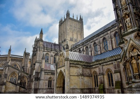 The best building in Wells, Wells cathedral