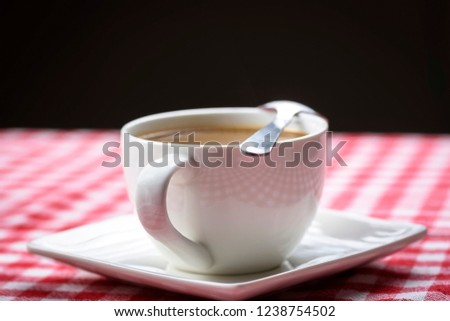 the best cup of coffee with milk for breakfast
