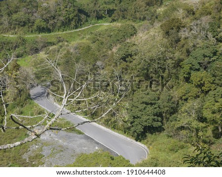 The Best of Highway 20: Curved Road in Motian (南橫摩天彎路) ストックフォト ©