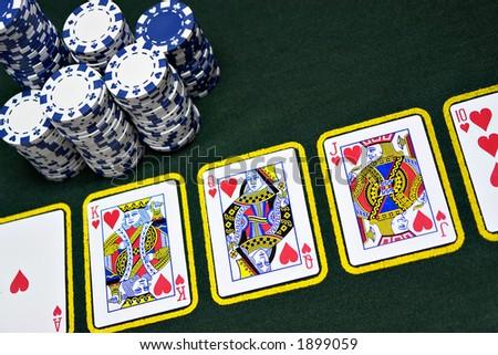 The best poker hand royal flush