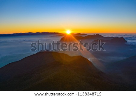 The best sunrise I've ever seen: Adam's Peak