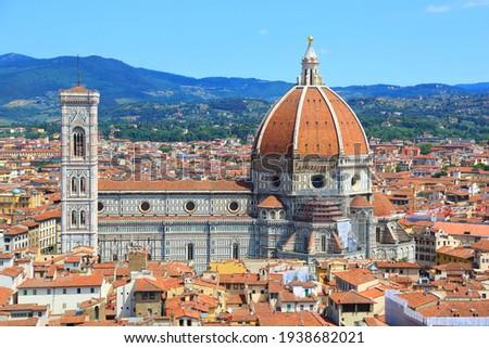 The best view of Santa Maria del Fiore. Italy Photo stock ©