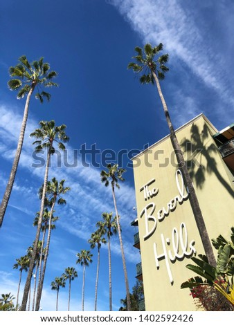 The Beverly Hills Hotel, Los Angeles, California #1402592426