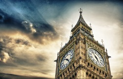 The BigBen in London.
