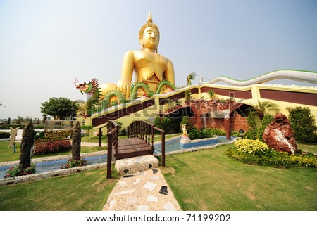 the biggest buddha in thailand