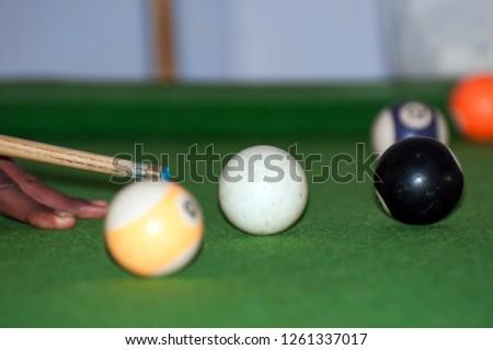 The billiard match in the Tanzania  #1261337017