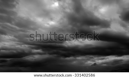 The black cloud in black and white #331402586