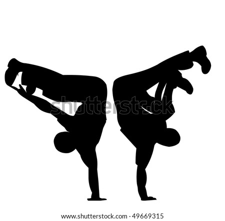 Hip Hop Dance Logo http://www.shutterstock.com/pic-49669315/stock-photo-the-black-sidebars-dancing-hip-hop-dance-youths.html