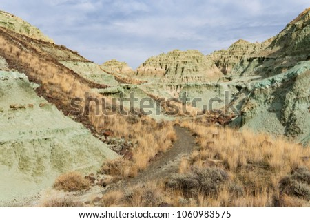 The Blue Basin in Oregon, part of the John Day Fossil Beds National Monument
