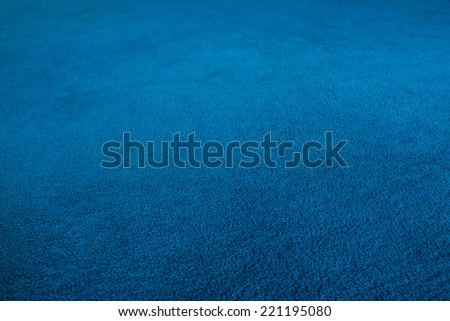 Shutterstock The blue carpet,shooting angle in obliquely.