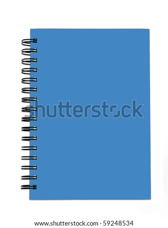 The Blue cover of Note book