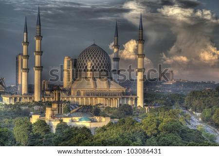 The Blue Mosque, Shah Alam, Kuala Lumpur