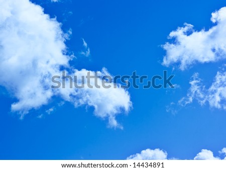 The Blue Sky and Clouds 2