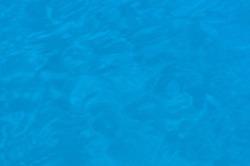 The blue surface of the Aegean Sea top view. Aqua blue