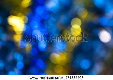 the blurred lights for abstract ...