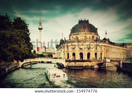 the bode museum on the museum...