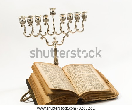 The book and candlestick