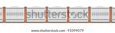Amazon.com: Wrought Iron Deck  Fence Railing, 3 Rail - 3 ft High