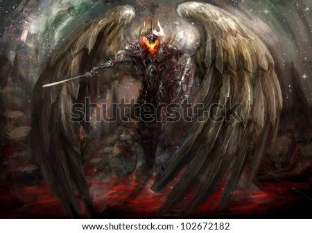 the bringer of apocalypse winged overlord
