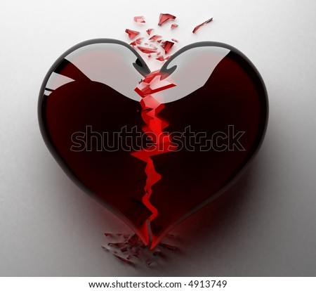 Broken Heart Images The broken heart 3d - stock